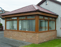 Tiled roof Sunroom