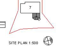 Sunroom - Kirkton of Skene - Site Plan