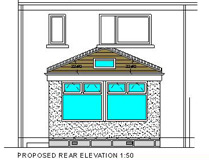Architectural Elevation Drawing Aberdeen